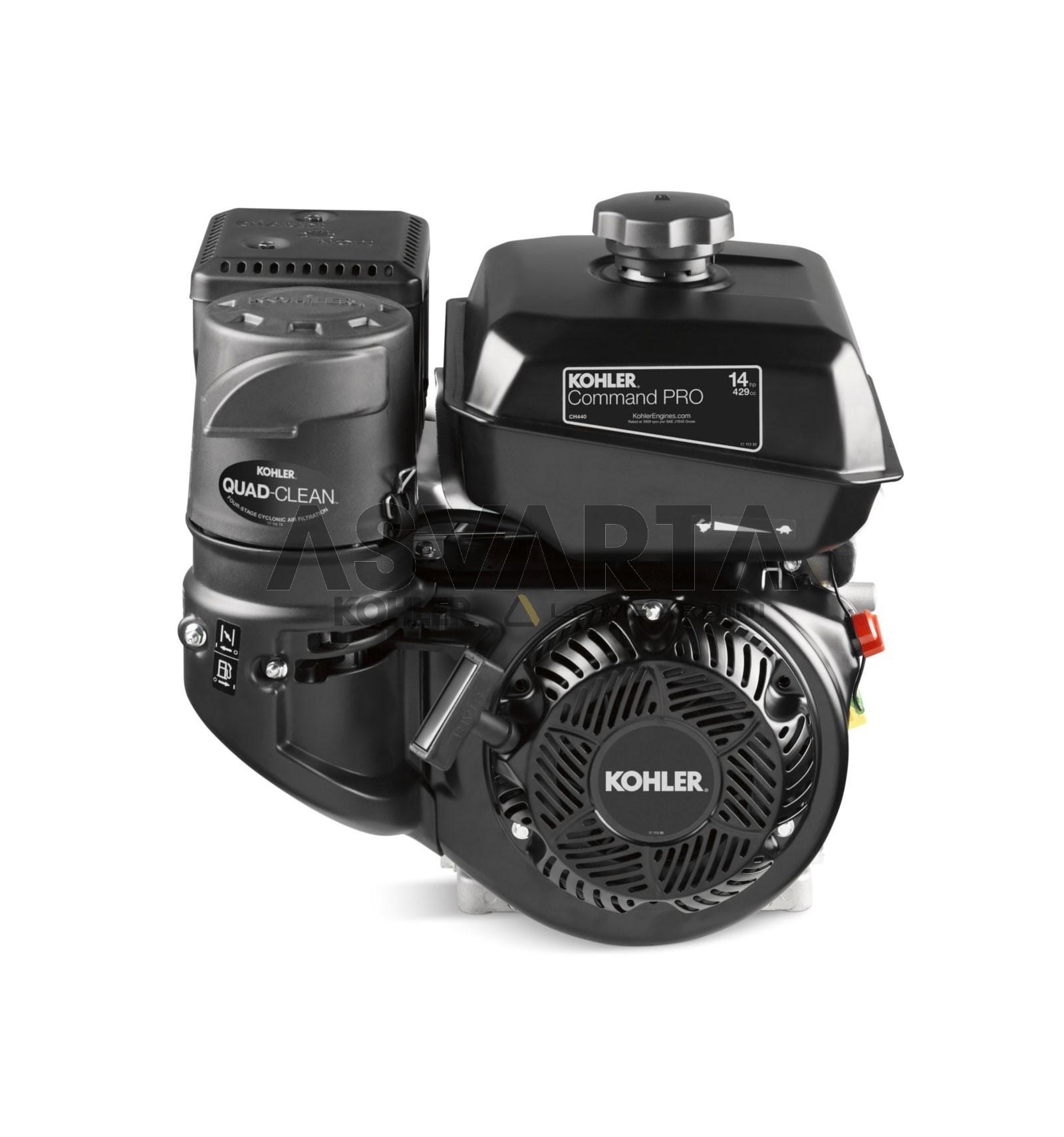 Kohler Command Pro Ch440 Engine Gasoline 2 7 Schematics