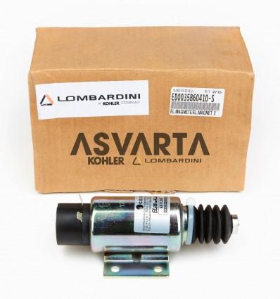 Electromagnet Lombardini 12LD Throttle Actuator Control