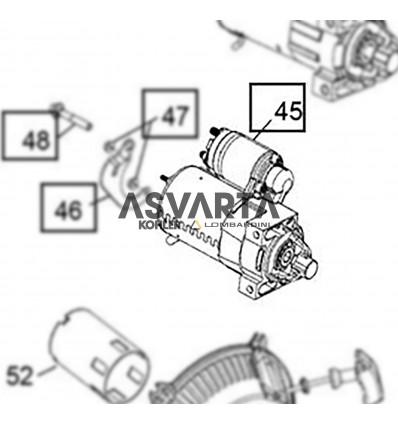 Electric Starter Engine Kholer CH