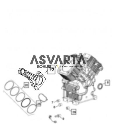 Assembly Connecting Rod  Kohler CH740  CV, ECH, ECV...