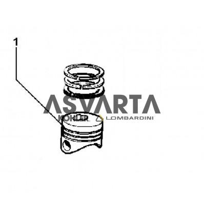 Pistón Completo STD Lombardini LDW 2204/T