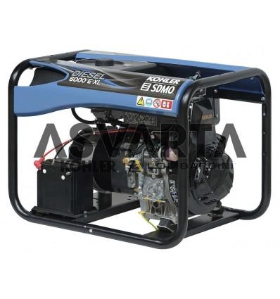 Grupo Electrógeno Diesel 6000 E XL C5 Kohler SDMO
