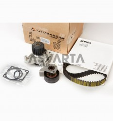 LOMBARDINI LDW 1404/LDW 1204 KIT WATER PUMP+VEEBELT+TENSIONER