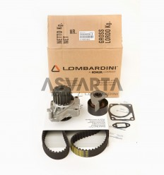 Kit Water Pump, Veebelt and Tensioner Lombardini LDW 702