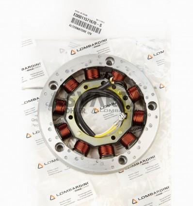 LOMBARDINI RUGGERINI ALTERNATOR 12V-16A 2 CABLES