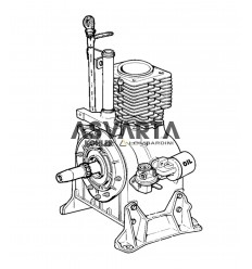 Lombardini Engine 4LD 820